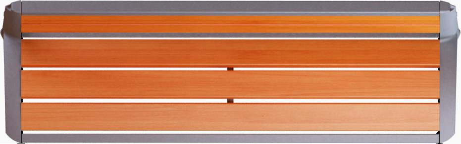 CAD And BIM Object Vesta Wooden Bench CONCEPTURBAIN