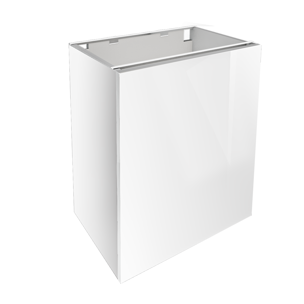 METOD MAXIMERA Base Cabinet With 3 Drawers White Ringhult White  3D View