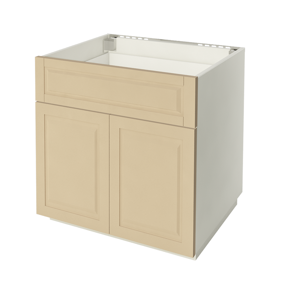 METOD MAXIMERA Base Cabinet w 2 Doors 2 Drawers White Ringhult White  3D View