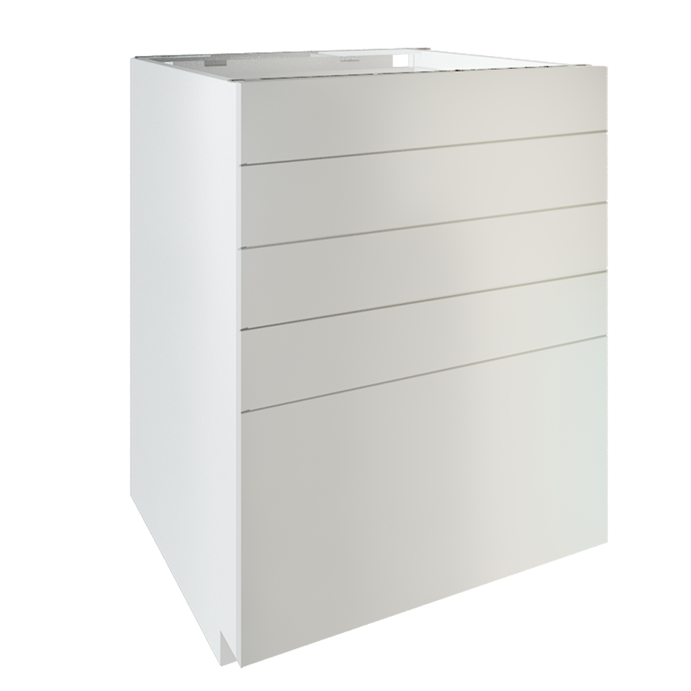 METOD Base Cabinet With Shelves White Ringhult White variante  3D View