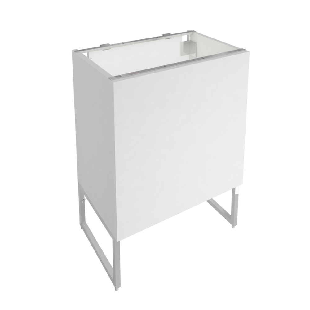 METOD FÖRVARA Base Cabinet With Drawer Door White Bodbyn Off White  3D View