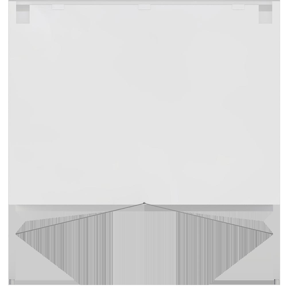 METOD FÖRVARA Base Cabinet 6 Front 6 Low Drawers White Voxtorp Walnut  Back