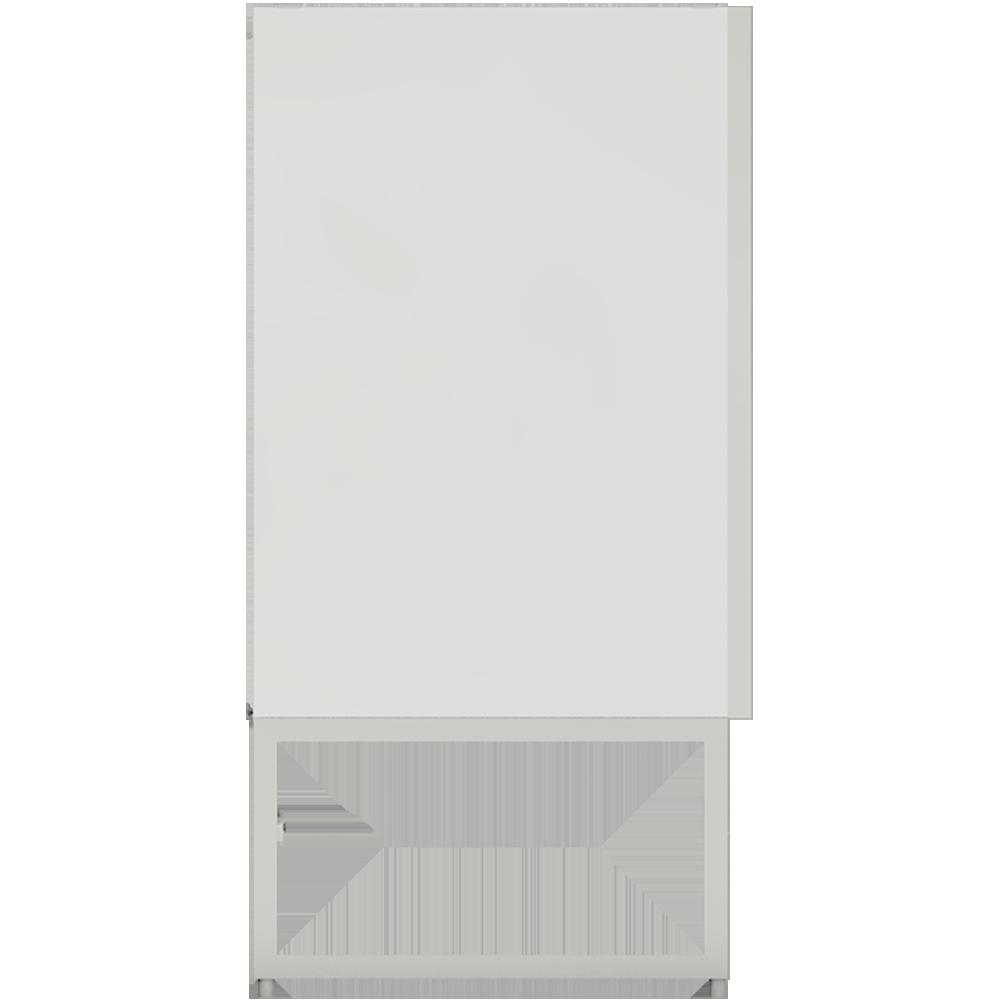 METOD FÖRVARA Base Cabinet 6 Front 6 Low Drawers White Voxtorp Walnut  Left