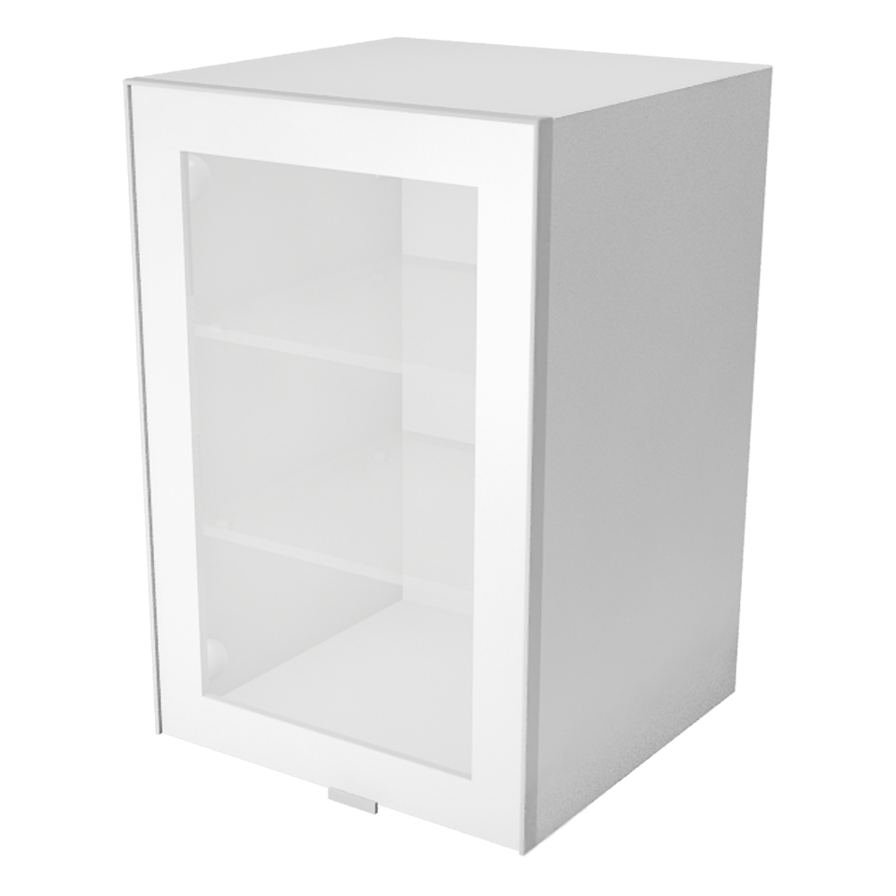 METOD FÖRVARA Wall Cabinet with Doors 2 Drawers White Ringhult White  3D View