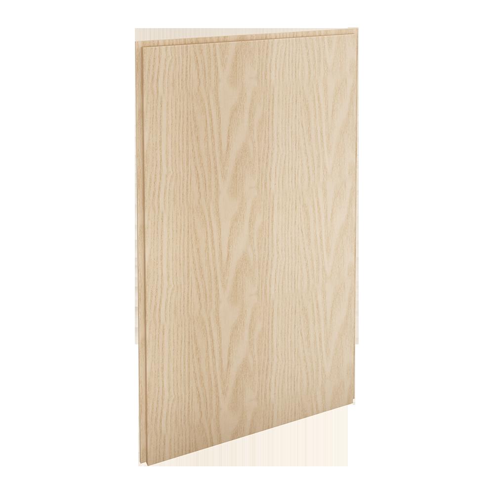 HYTTAN Front for dishwasher, oak veneer  3D View