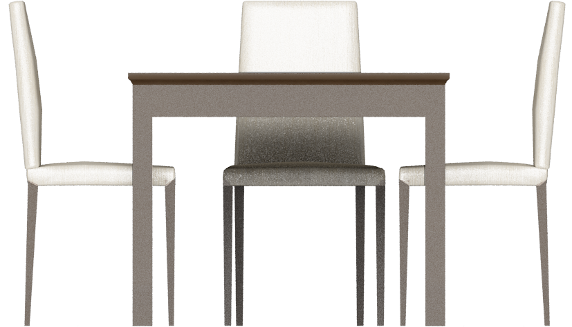 CAD and BIM object  Markor Dining Table 02  IKEA