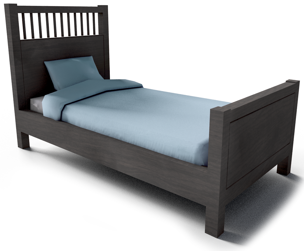 objeto cad e bim hemnes single bed frame small ikea