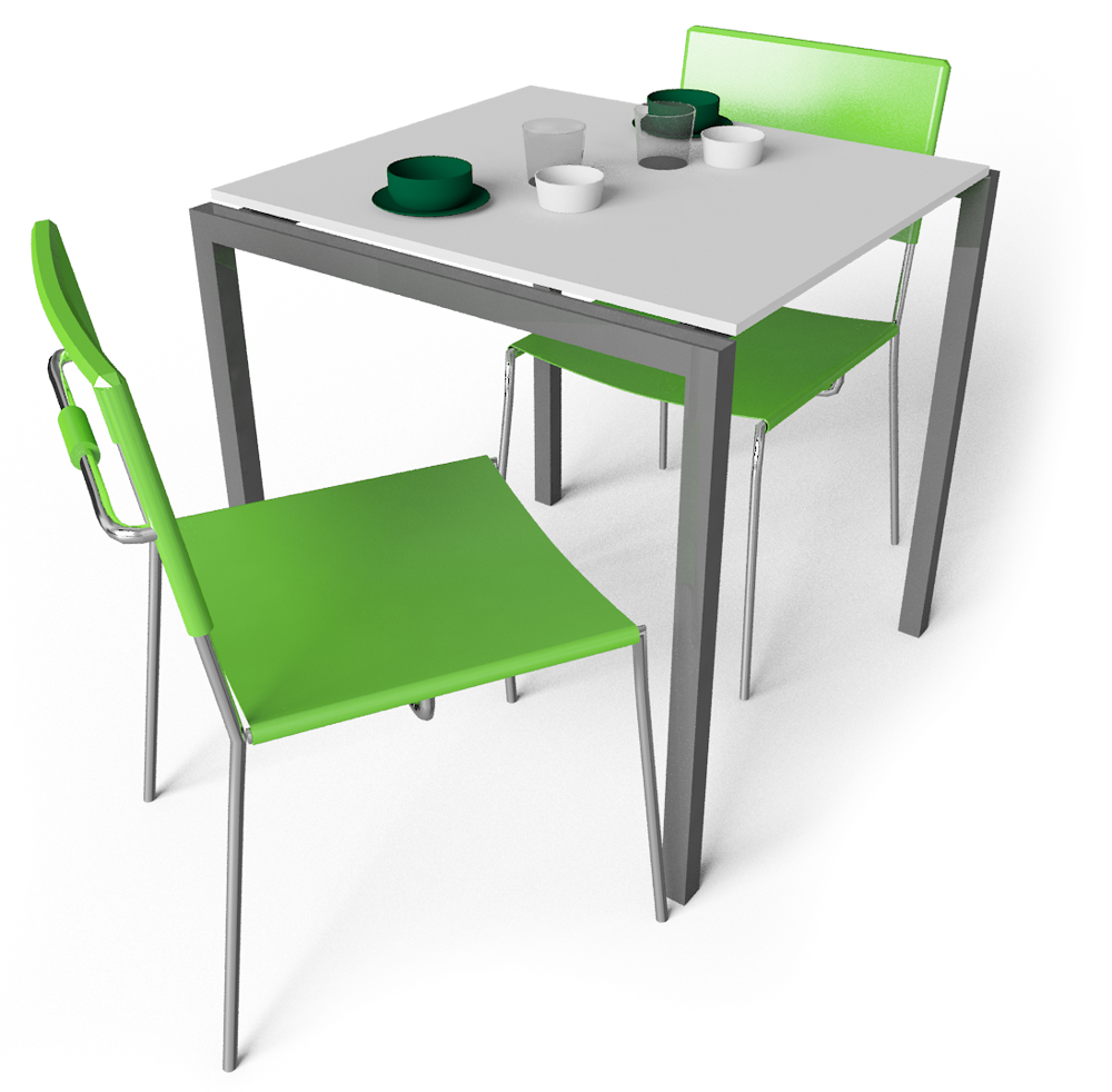 Cad and bim object morist table and chairs ikea for Table d angle ikea
