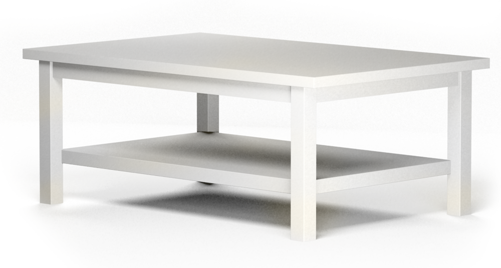 HEMNES coffee table 3D View - CAD And BIM Object - HEMNES Coffee Table - IKEA