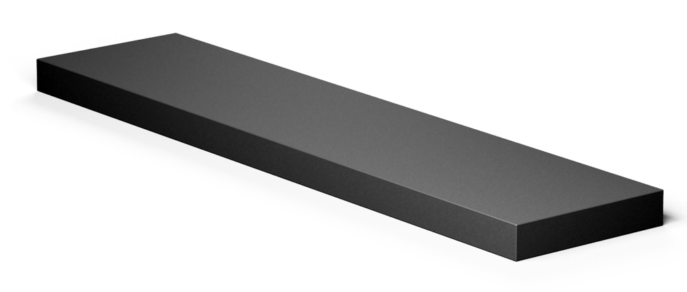 LACK wall shelf black  3D View
