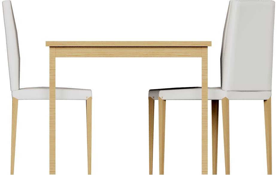 CAD and BIM object - Extendable Dining Table - IKEA
