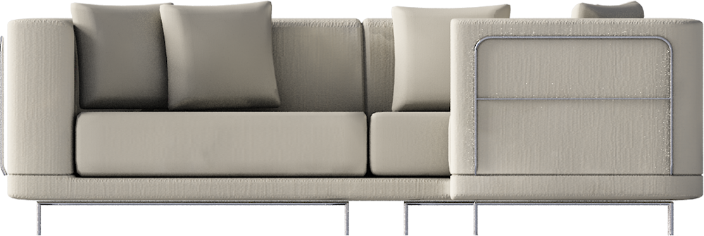 CAD and BIM object Tylosand Corner Sofa IKEA : IKEA TylosandCornerSofa FRONT from www.polantis.com size 1000 x 335 png 451kB