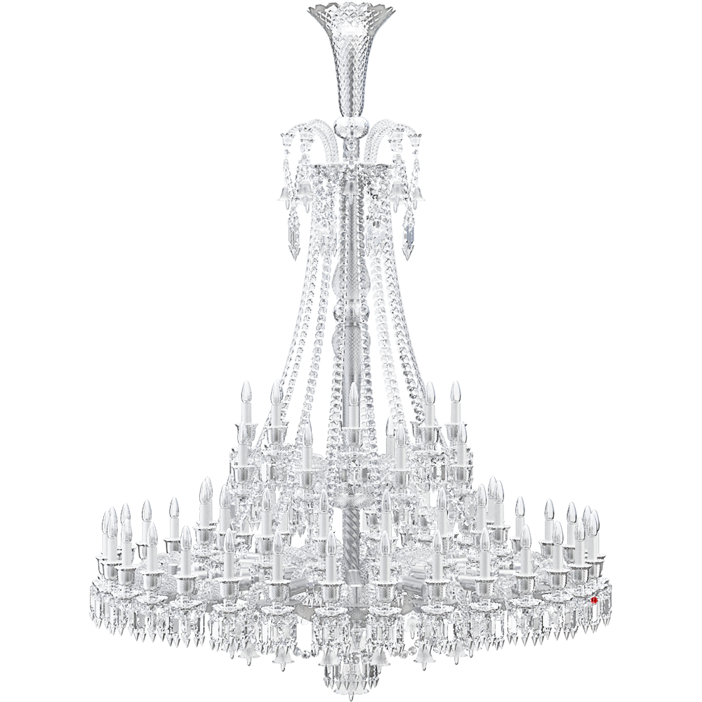 Zenith Chandelier 64L  3D View