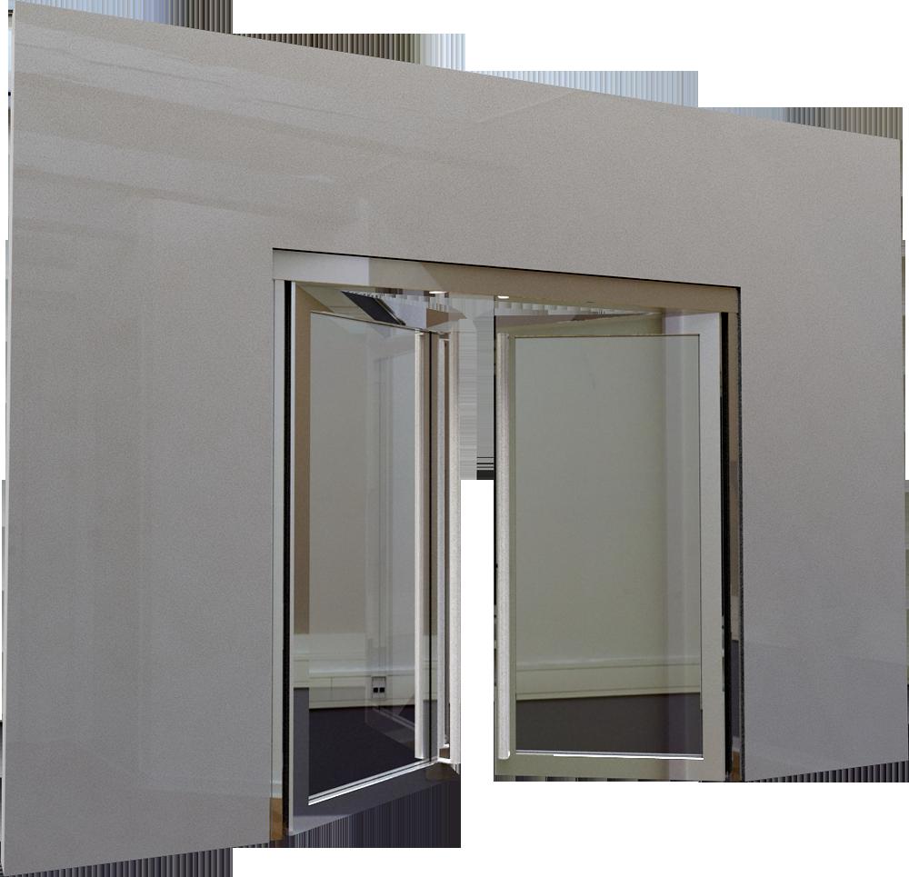 Cad and bim object porte vitree ei60 neo 2 vantaux for Porte ei2 60