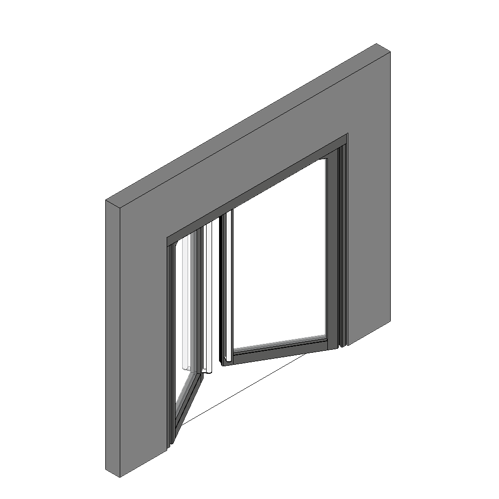 Objets bim et cao porte vitree ei60 neo 2 vantaux simple for Porte ei2 60