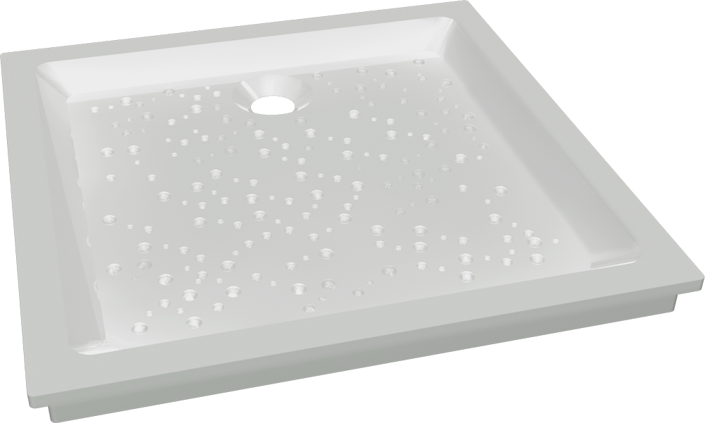 PRIMA 90x90 Shower Tray  3D View