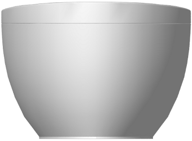 Aveo Bath Special shape  Front