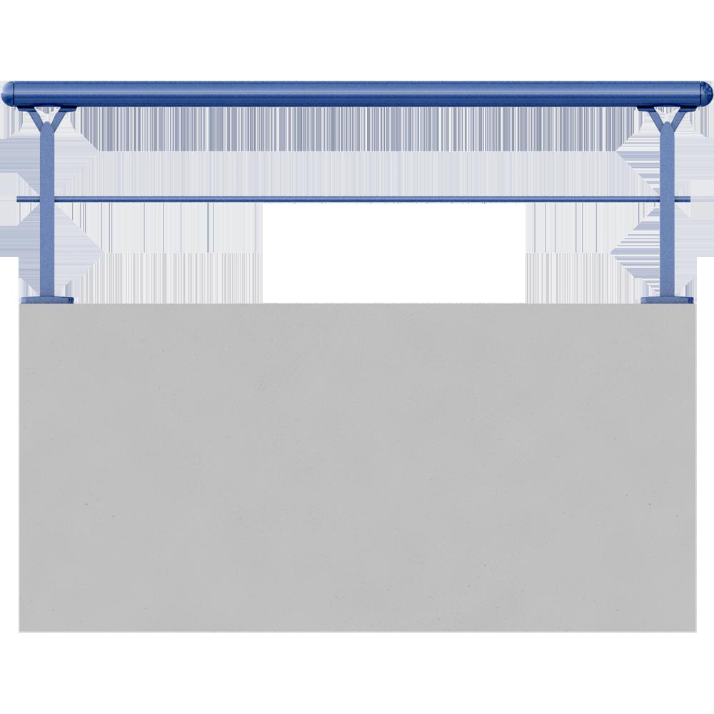 objets bim et cao main courante 45mm et 1 lisse 18x25mm. Black Bedroom Furniture Sets. Home Design Ideas