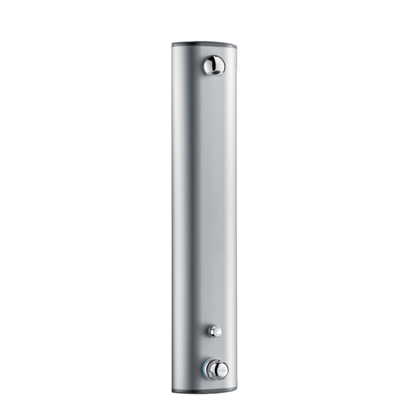 792300 Thermostatic time flow shower panel SECURITHERM  3D View