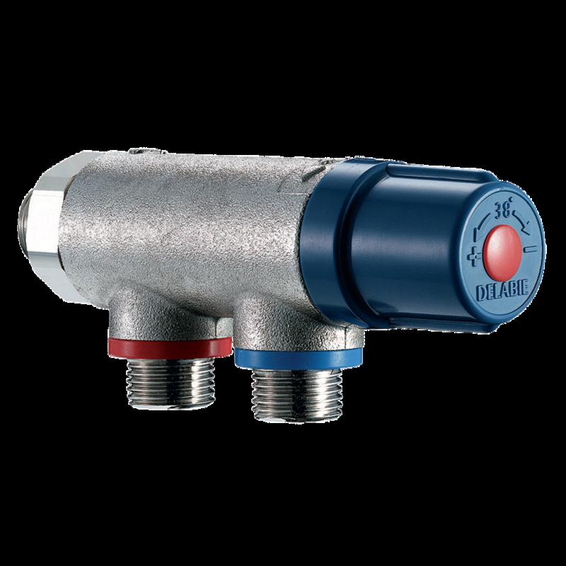 733015 Thermostatic mixing valve PREMIX COMPACT  3D View