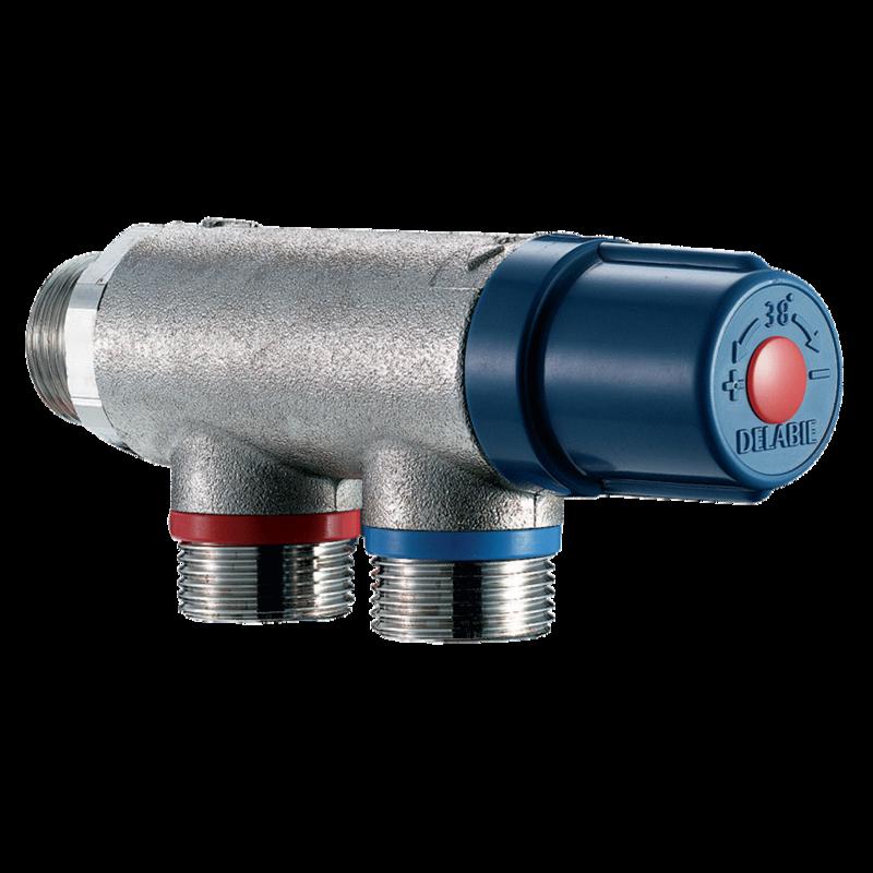 733020 Thermostatic mixing valve PREMIX COMPACT  3D View
