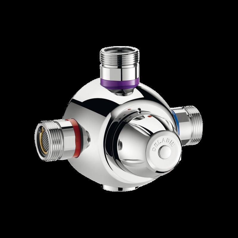 731003 Group thermostatic mixing valve PREMIX COMFORT  3D View