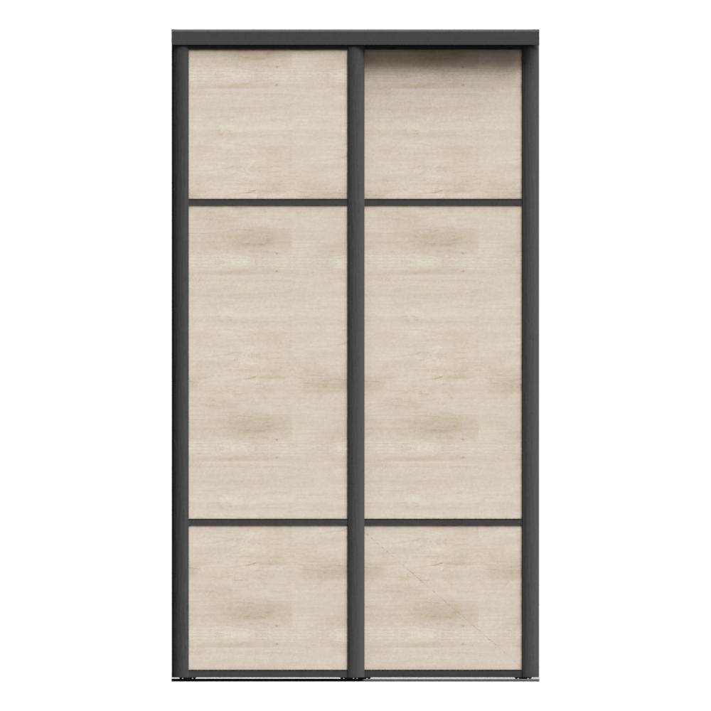 objets bim et cao porte de placard coulissante emotion 2 portes sogal. Black Bedroom Furniture Sets. Home Design Ideas