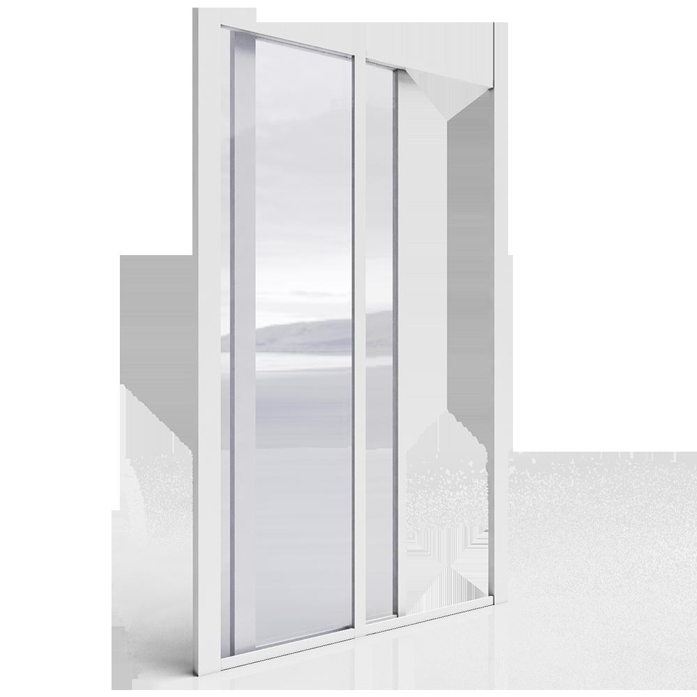 Objets bim et cao cada ca st2 porte coulissante grande for Porte d entree grande largeur