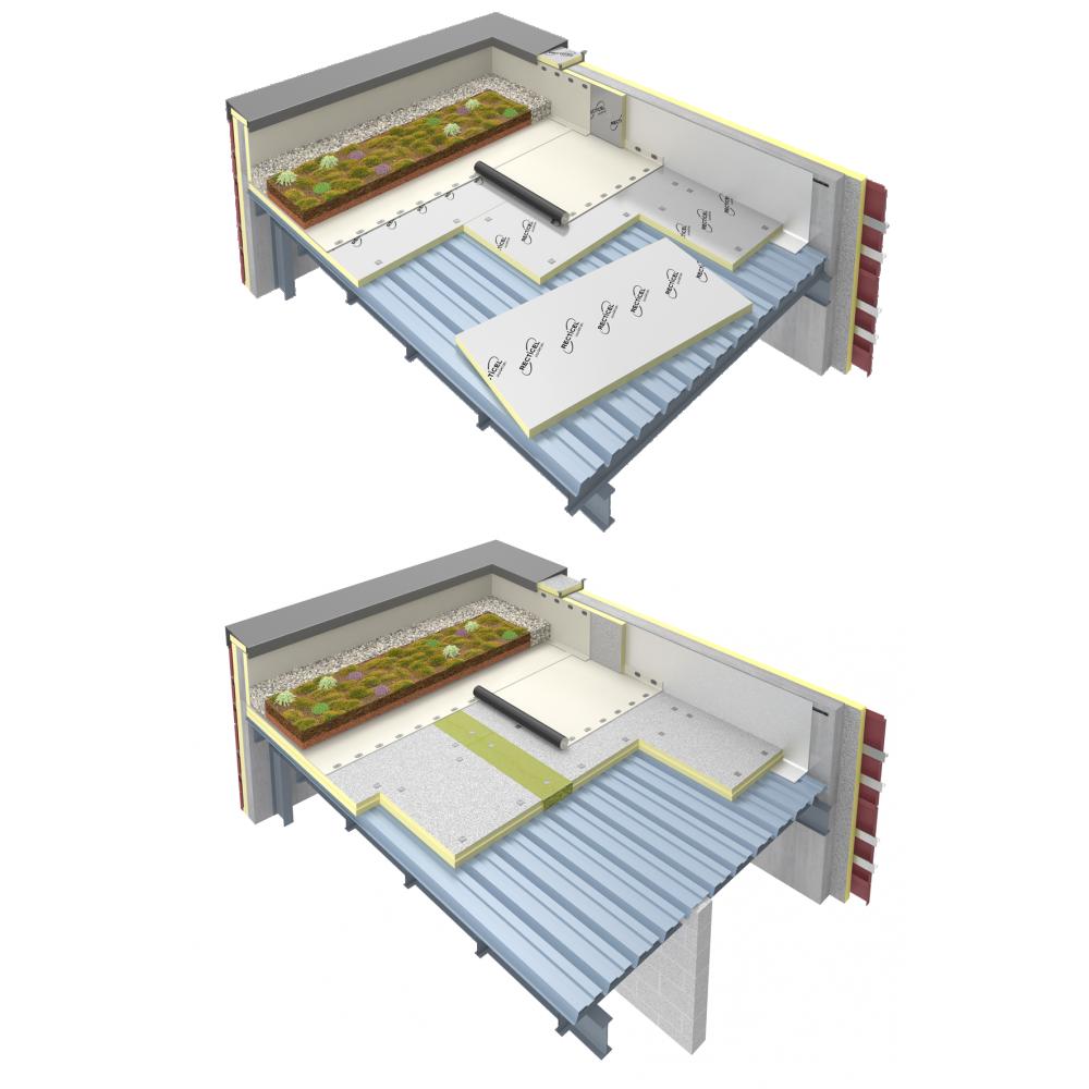 Objets bim et cao isolation toiture terrasse support for Isolation toiture terrasse