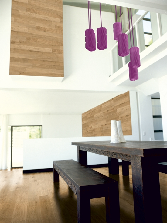 Natural oak wood flooring, ceiling and panelling  Catalog