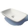 Loop washbasin
