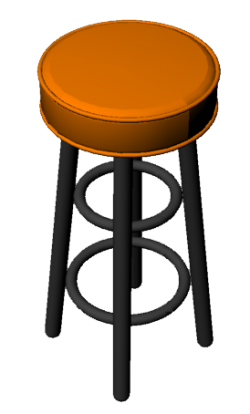 Chair 15 Bar Stool