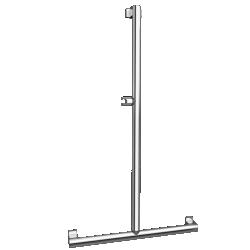 Barre de douche en T 049020