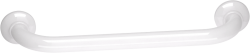 Barre appui ALU Blanc droite 400mm