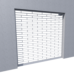 Rideau transparent Murax Vision accessoires laqués