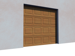 Safir free cad and bim objects 3d for revit autocad for Porte de garage astec