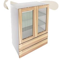 METOD Base Cabinet With Shelves White Ringhult White