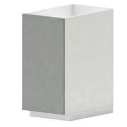 METOD MAXIMERA Base Cab F Sink 2 Fronts 2 Drawers White Veddinge Grey