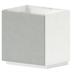 METOD MAXIMERA Base cb 2 Fronts 2 High Drawers White Ringhult White