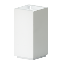 METOD Base Cabinet With Wire Baskets White Ringhult White