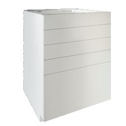 METOD Base Cabinet With Shelves White Ringhult White variante