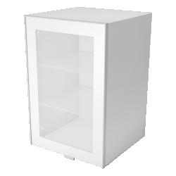 METOD FÖRVARA Wall Cabinet with Doors 2 Drawers White Ringhult White