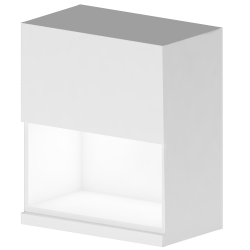 METOD MAXIMERA Wall Cabinet with 2 Doors 2 Drawers White Ringhult White