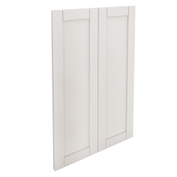 SÄVEDAL 2p door f corner base cabinet set white