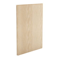 HYTTAN Front for dishwasher, oak veneer