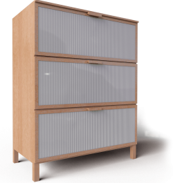 Aneboda Chest of 3 Drawers