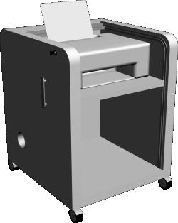 Aspvik Printer Table