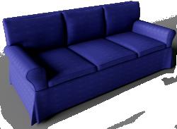 Ektorp Sofa Dark Blue