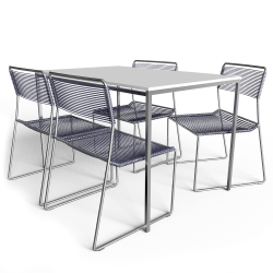 Mella Table And 4 Chairs