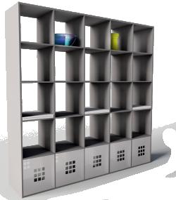 Expedit Bookcase Black